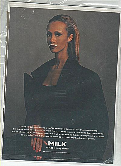 Iman Got Milk Ad (Image1)
