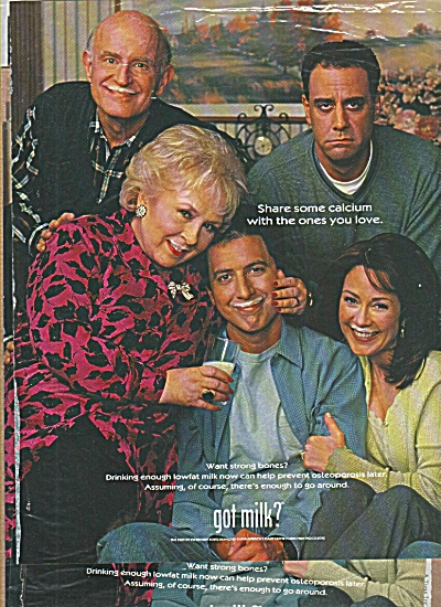 EVERYBODY LOVES Raymond Got Milk Ad (Image1)