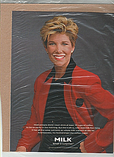 Joan Lunden Got Milk Ad