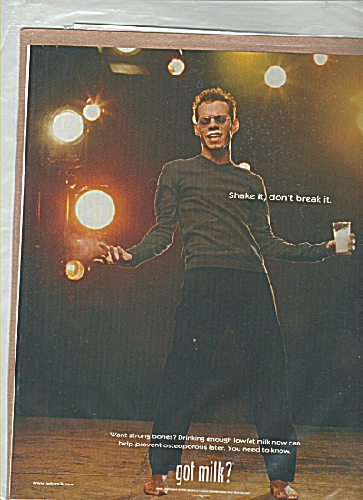 MARC ANTHONY GOT MILK Shake it Break it AD (Image1)