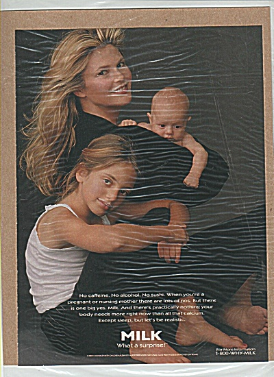 Milk Mustache - CHRISTIE BRINKLEY & dhildren (Image1)