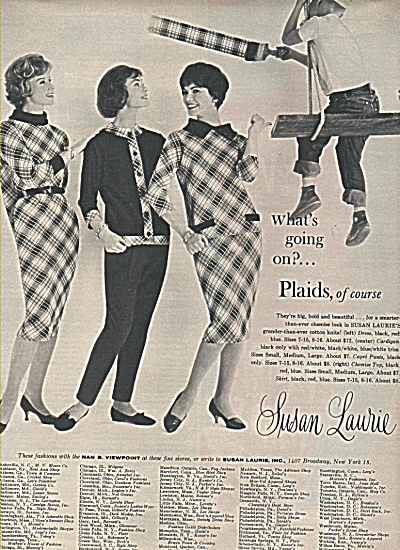 Susan Laurie clothes ad 1958 (Image1)