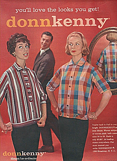 Donnkenny blouses ad 1958 (Image1)