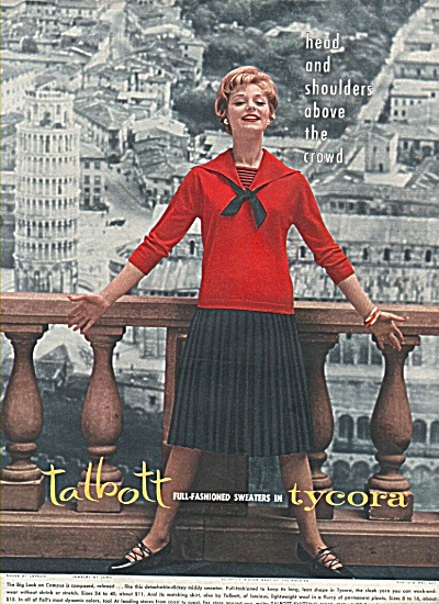 Talbot sweaters ad 1958 (Image1)