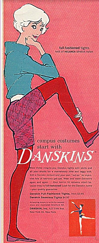 Danskins ad 1958 (Image1)