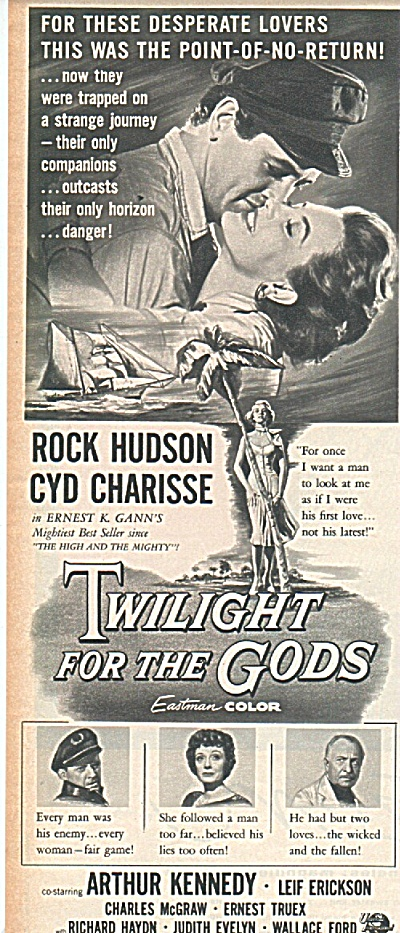 Movie;twilight For The Gods - Rock Hudson