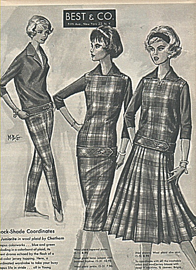 Best & Co. Coordinates ad 1958 (Image1)