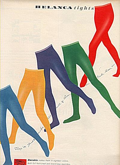 Belanca tights - Danskin ad 1958 (Image1)