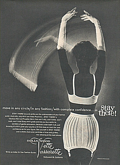 Hollywood Vette Vassarette ad 1958 (Image1)