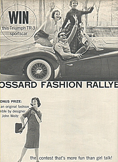 Gossard fashion Rallye ad 1958 (Image1)