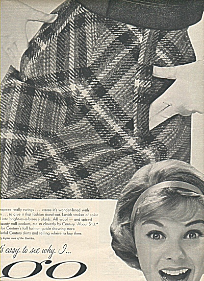 Century sportswear ad 1958 (Image1)