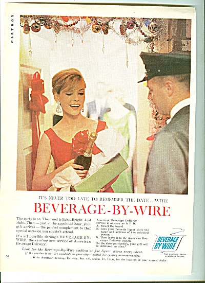 Beverage By Wire Ad 1959