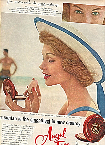 Angel Face cream ad 1958 Heather Hewitt? (Image1)