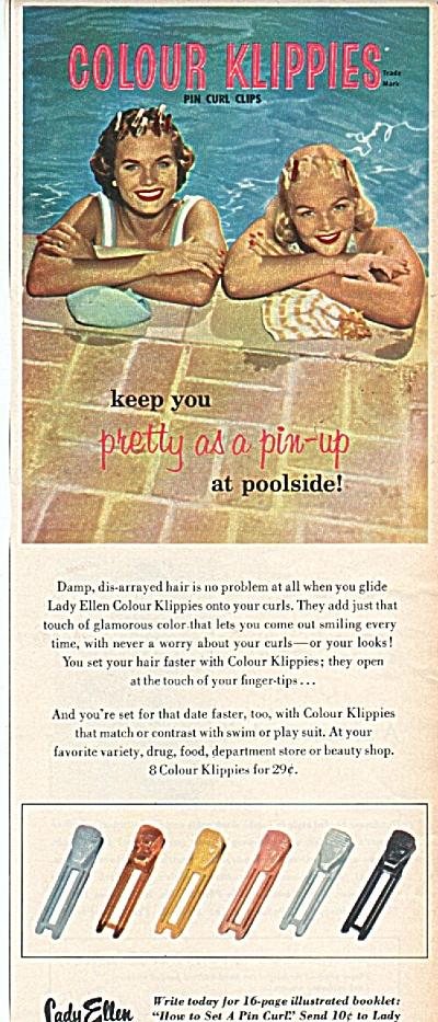 Lady Ellen colour klippies ad 1958 (Image1)