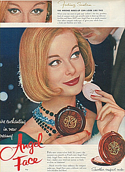 Angel Face by Pond's ad 1958 (Image1)