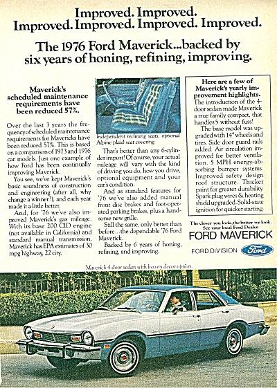 Ford Maverick ad 1976 (Image1)
