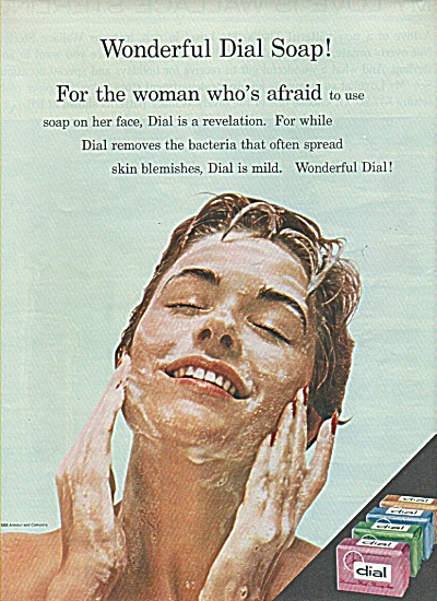 Dial bar soap ad 1958 (Image1)