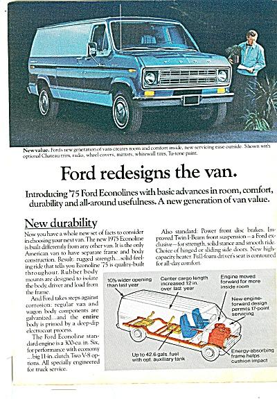 Ford Van ad 1975 (Image1)