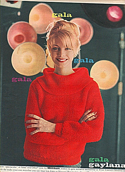 1958 Gala gaylana-Peter Freund Knitting Mills ad (Image1)