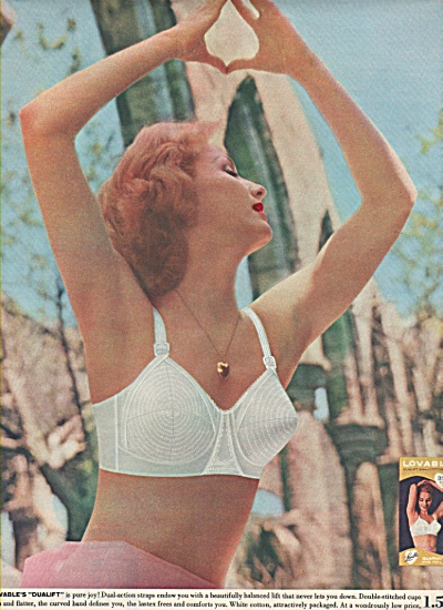 Loveable Bra Ad 1953