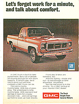 GMC trucks ad 1974 (Image1)
