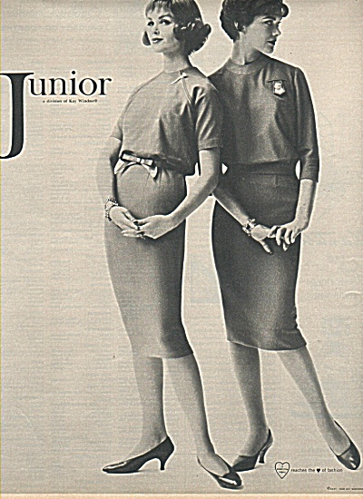 Junior fashions ad 1958 KAY WINDSOR (Image1)