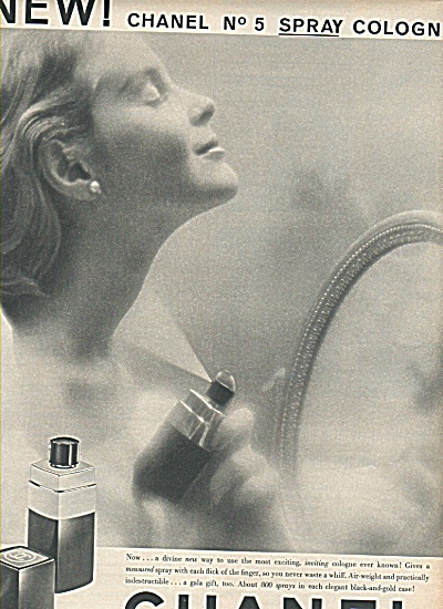 Chanel No. 5 ad 1958 (Image1)