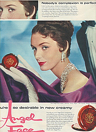 Angel Face by Pond's - 1958 ad (Image1)