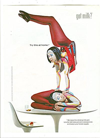Got Milk Ad?  2001 (Image1)