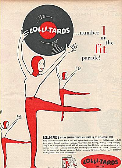 Lolli Tars tights ad 1958 (Image1)