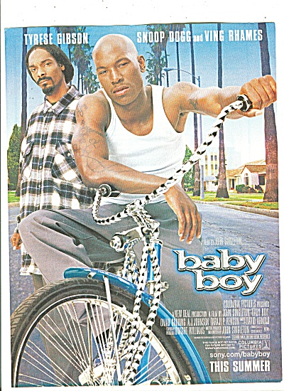 Movie:  Baby Boy, OMAR GOODING = 2001 (Image1)
