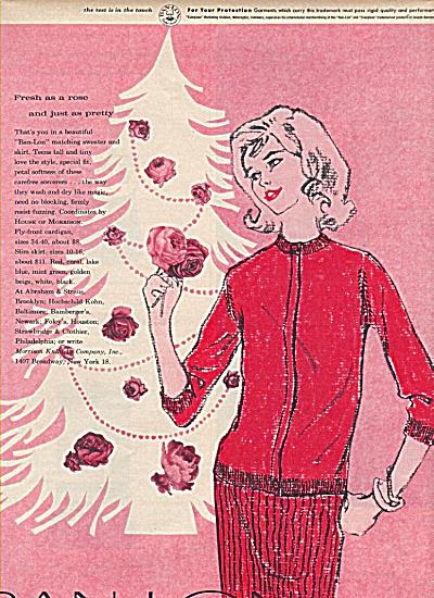 Ban-lon  sweater ad 1958 (Image1)