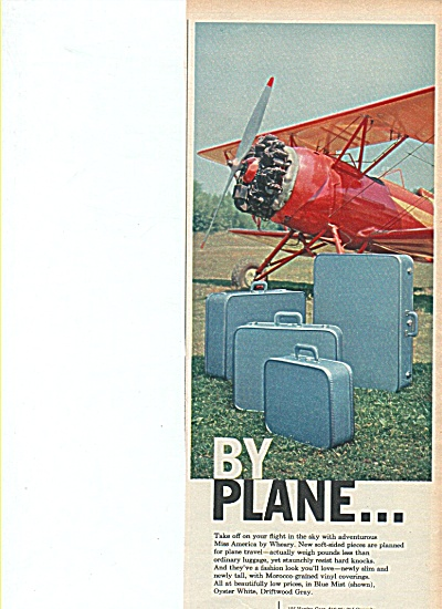 Miss America by Wheary luggage 1958 ad (Image1)
