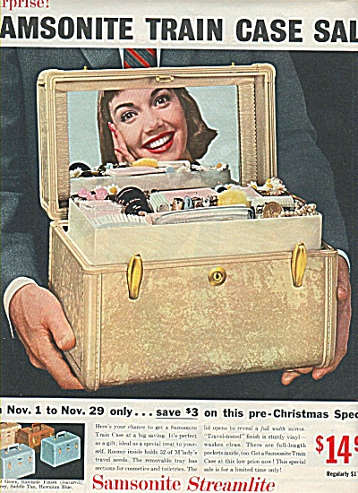 Samsonite streamlite ad 1958 (Image1)