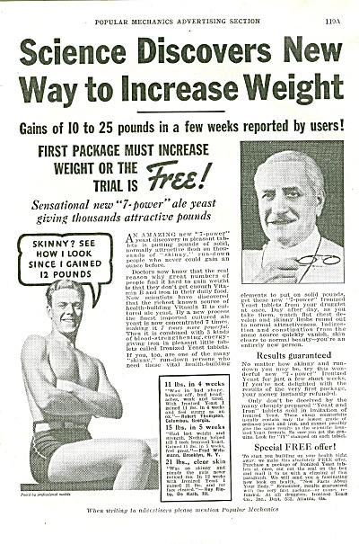 New Way to increase weight ad 1936 (Image1)