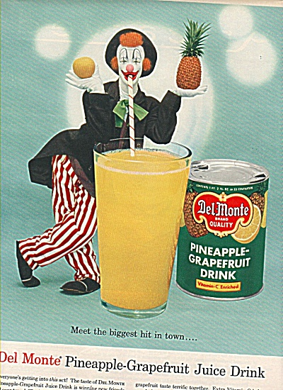 Del Monte pineapple-grapefruit drink ad 1958 (Image1)