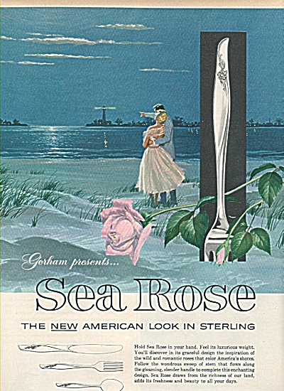 Gorham sterling- Sea Rose ad 1958 (Image1)
