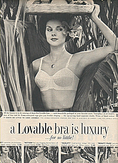 Lovable bra ad 1958 (Image1)
