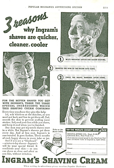 Ingram's shaving cream ad 1936 (Image1)