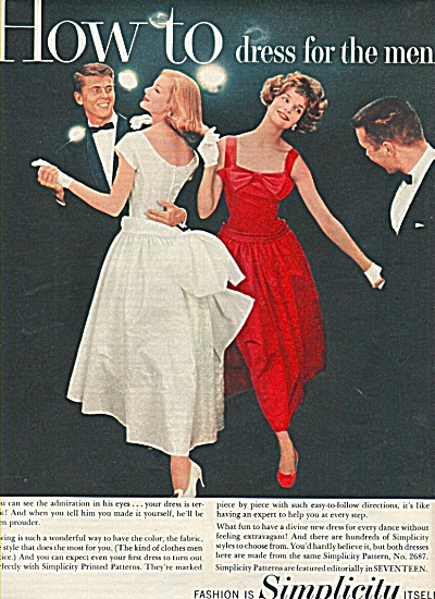 Simplicity pattern company ad 1958 (Image1)
