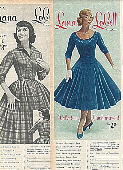 Lana Lobell ads 1958 (Image1)