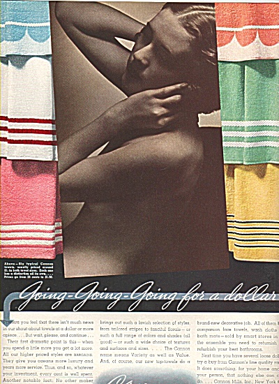 Cannon towels ad 1936 (Image1)