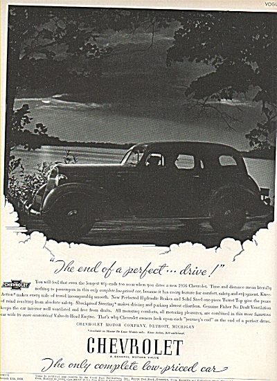 Chevrolet automobile ad 1936 (Image1)