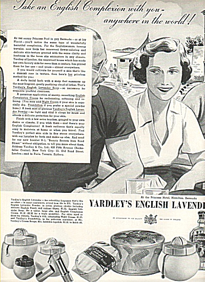 Yardley's English Lavender ad 1936 (Image1)