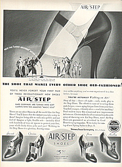 Air Step shoes ad 1936 (Image1)