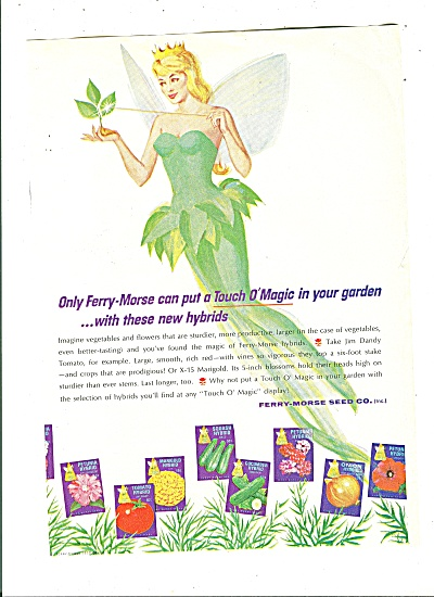 Ferry-Morse seed co. ad 1965 (Image1)