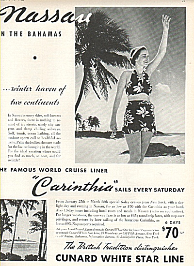 Cunard White Star Line ad 1936 (Image1)