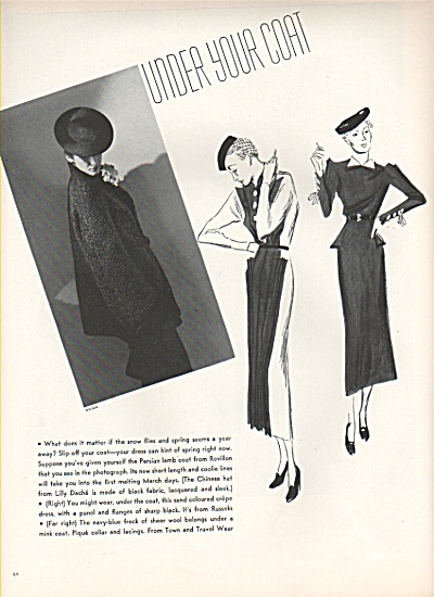 Coat styles of the mid 30s- sketches 1936 (Image1)