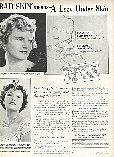 Pond's beauty aids ad 1936 (Image1)