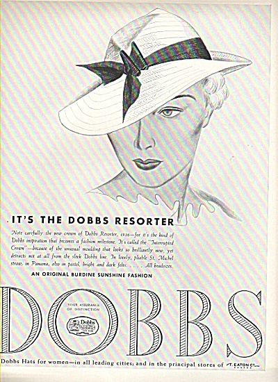 Dobbs hats ad 1936 (Image1)